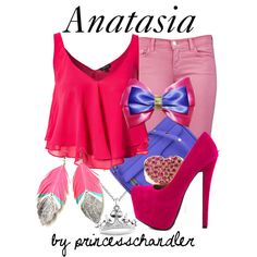 Designer Clothes, Shoes & Bags for Women Movie Inspired Outfits, Disney Inspired Fashion, Themed Outfits, Disney Fashion, Anastasia And Drizella, Disney Outfits, Disneybound, Disney Style, Cinderella