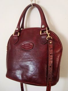 VINTAGE Leather Handbag by OROTON Australia Oroton Handbags c4eb3911081bd