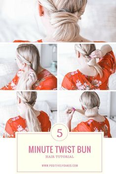Hair Tutorial / Simple Twist Bun