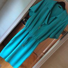 Escada! Heavenly Silk Romper Style Dress