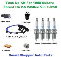 For Lexus LS400 1995-1997 Spark Plug Wire Set /& Plugs Tune Up Kit OEM