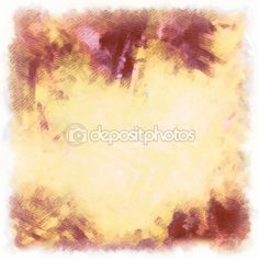 Background water color and pencil, yellowy-brown — Stock Image #104749962