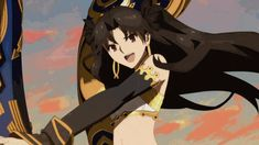 Ishtar Gif Tumblr In 2020 Animation Sketches Anime Wallpaper Live Fate Anime Series