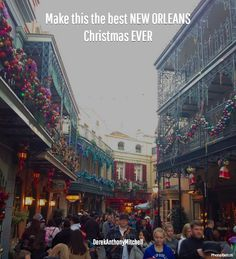 Make this the best NEW ORLEANS Christmas EVER. DerekAnthonyMitchell