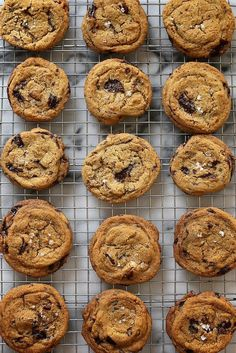 The Best Brown Butter Chocolate Chip Cookies http://www.tastykitchenideas.com/2014/05/06/the-best-brown-butter-chocolate-chip-cookies/