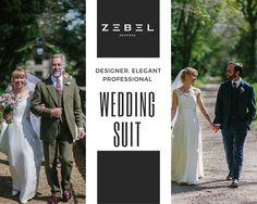 Own the great indulgence of life - a perfect wedding suit.    #weddingsuits #style #groomsguide #formal #elegant #memorable  #unique #wedding #suitup #tuxedo #suited #zebebespoke #weddingsuits