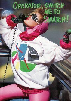 Image result for 80's swiss ski resort ads
