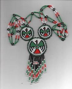 thunderbird necklacenative americanpow-wows by deancouchie on Etsy