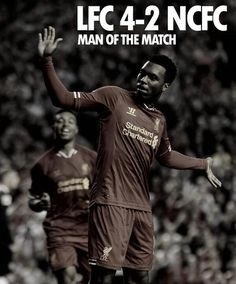 8/27/13 Not a real surprise! Man of the Match - Daniel Sturridge #LFC