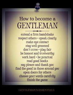 According to this list, my grandmother & mother & grandfather & uncles raised me well!