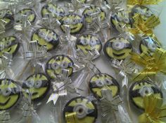 Pirulito de chocolate do minion