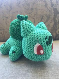 bisasam bulbasaur crochet häkeln pokemon amigurumi