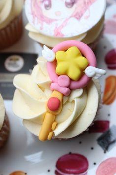 Más Recetas en https://lomejordelaweb.es/ | Cupcakes Sakura Card Capto