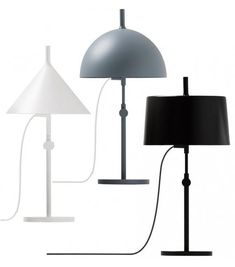 w132 nendo t table lamp A Table, Table Lamp, Clamp Lamp, New Bedroom Design, Ping Pong Table, Incandescent Bulbs, Folding Chair, Danish Design, Pendant Lamp