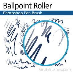 Ballpoint Roller - Photoshop ballpoint Ink Brush A very realistic rollerball type pen brush for Photoshop Artist Brush, Photoshop Brushes, Ballpoint Pen, Cool Photos, Graphic Design, Ink, Type, Art Reference, India Ink