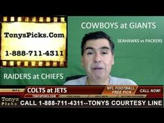 Indianapolis Colts vs. New York Jets Free NFL Football Picks and Predict...