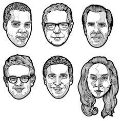 Inkline portraits - daniloagutoli.com