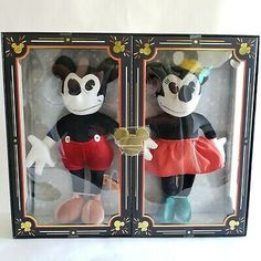 Disney Mickey Mouse 90th Anniversary Party Plastic Snow Globe Disneyland Paris