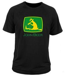 c3595f77aee T shirt t-shirt John Beer   tractor deere