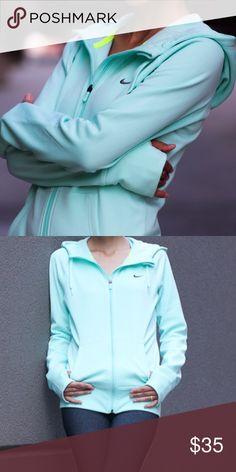 Like New Nike mint sweatshirt hoodie XS Beautiful athletic sweatshirt in mint. Nike Tops Sweatshirts & Hoodies