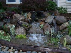 Rain Water Harvesting System Closeup