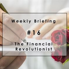 "Weekly Briefing #16: McKinsey pens a ""love letter"" to a fintech crush.  Welcome to the weekend. In this edition, we reveal McKinsey's new fintech fixation and ask if European banks are bringing a butter knife to a sword fight. We also take the temperature of Bitcoin, evaluate an InsuranceTech fantasy deal and note the dawn of the Reg A+ era. #Fintech #Europe #Market #DeutscheBanks #Bitcoin  #InsuranceTech #RegulationA+ Originally posted on 21-Feb-2016. Read more at http://goo.gl/GEwsBj"
