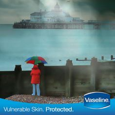 Is your skin protected with #Vaseline this cold morning? Re-pin if it is.