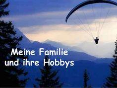 Meine Familie und ihre Hobbys