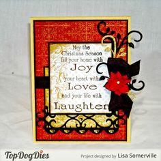 Designs by Lisa Somerville: Joy...Love...Laughter... Mojo#315