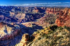 The wonder of The Grand Canyon from Desert View Point. HDR Processed.