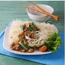 Cara Membuat Resep Bihun Siram Daging Pedas Makanan Resep Makanan Bakso