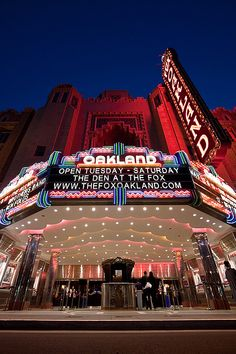 Fox Theatre, Oakland, California