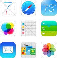 ios 7 icons Apple mistake