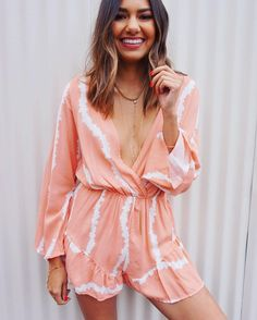 Romper are fun! Especially when they're called the Candy Ruffle Romper. And especially when they're on $42! /// #laurenly by laurenly_boutique