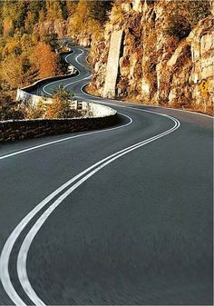 The long, winding road to nowhere...