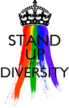 """A new GSA Poster I designed (inspired from the """"keep Calm and Carry on)   #LGBT #LGBTPride"""