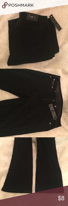 Vintage new pants New. Soft material. Bootcut. Dark black. Size 5 Pants
