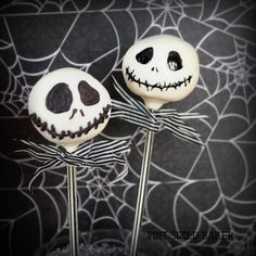 Pint Sized Baker: Jack Skellington Cake Pops