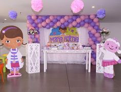 decoracion doctora juguetes