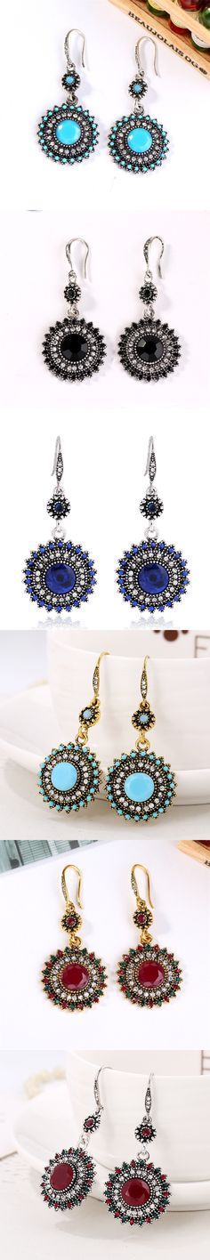 Europe and the United States national wind restoring ancient ways of earring sunflower earrings