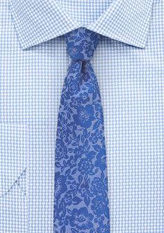 Trendy Lace Necktie in Blue | $15