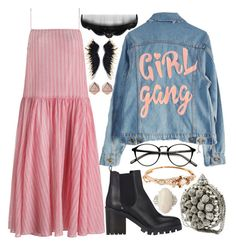 we'll cut ya by isabellaobrien15 on Polyvore featuring polyvore, fashion, style, Zimmermann, High Heels Suicide, Barneys New York, Mignonne Gavigan, FOSSIL, Anna Sui and clothing