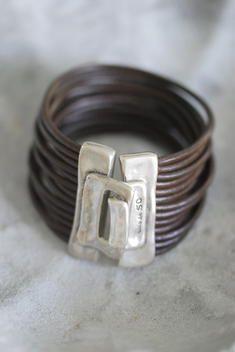 UNO de 50 Leather Wrap