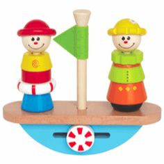 Hape Balance Boat - Wooden Educational Toys http://www.greenanttoys.com.au/shop-online/