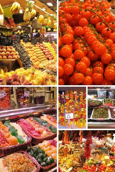La Boqueria market in Barcelona, Spain is a colourful, friendly and fascinating market.  It could also just be the best market in Europe