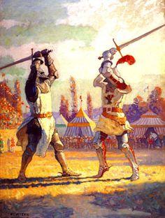 Knightly Duel