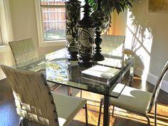 Beautiful kitchen table decor