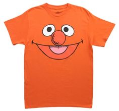 e3a2107dc0c4 Ernie-- Big Face -- Sesame Street T-Shirt Amazon Clothing