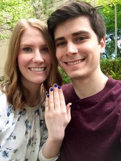 Congratulations to Joe and Kelsey on their engagement! <3 Click to see her gorgeous new ring!