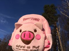 Piggy plyšový batůžek, Piggy Paint